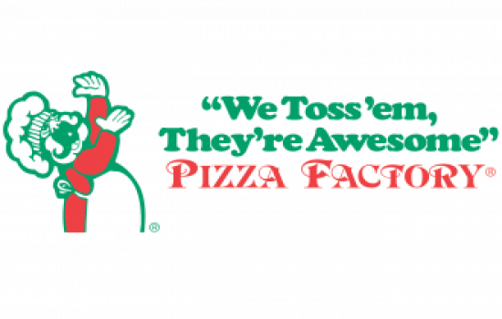 Save 10% on your meal at The Pizza Factory